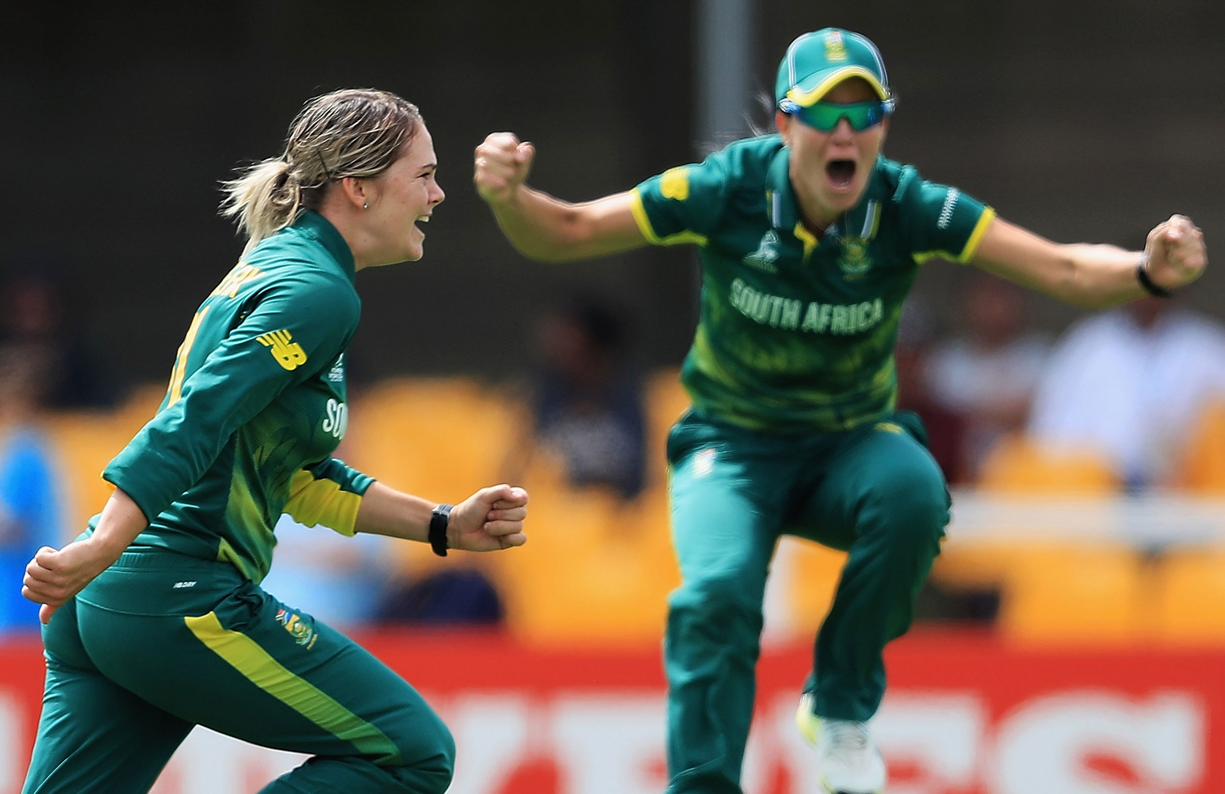 Dane van Niekerk and Marizanne Kapp will play for the ACT // Getty