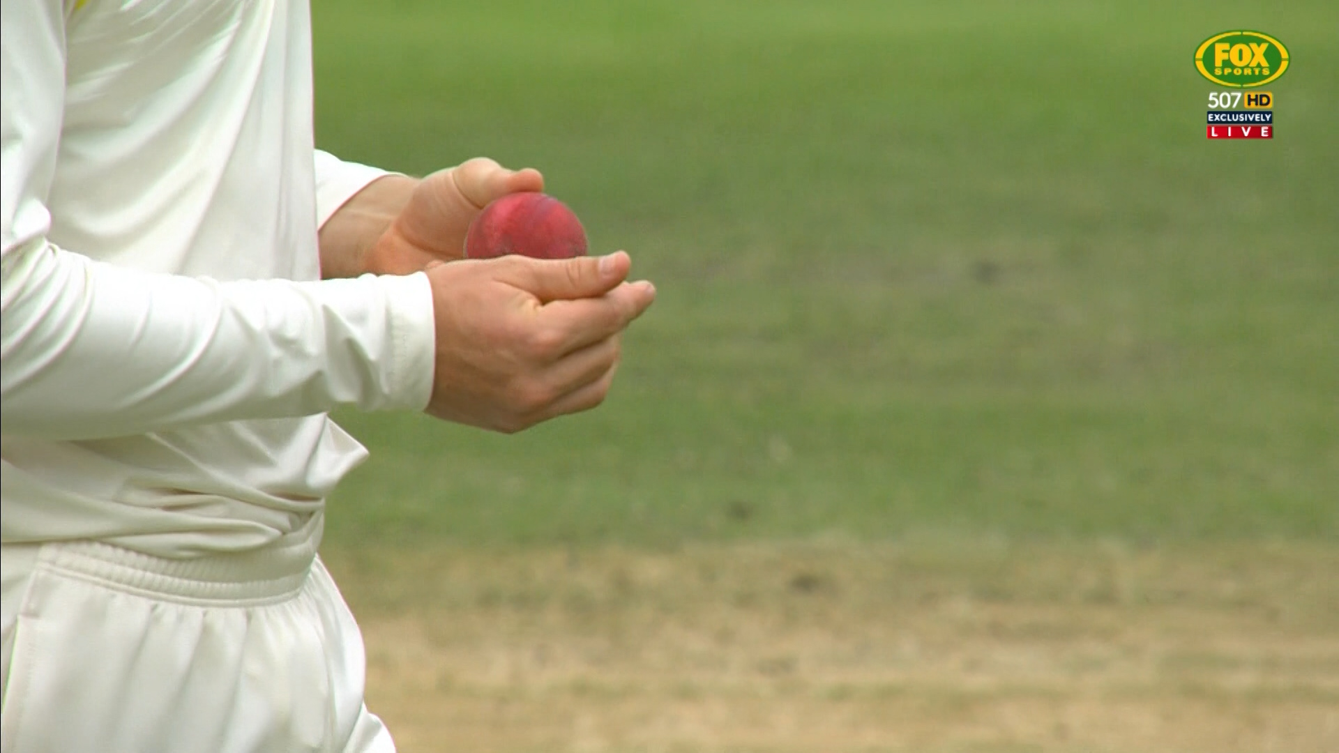 Cameron Bancroft on day three in Cape Town // SuperSport