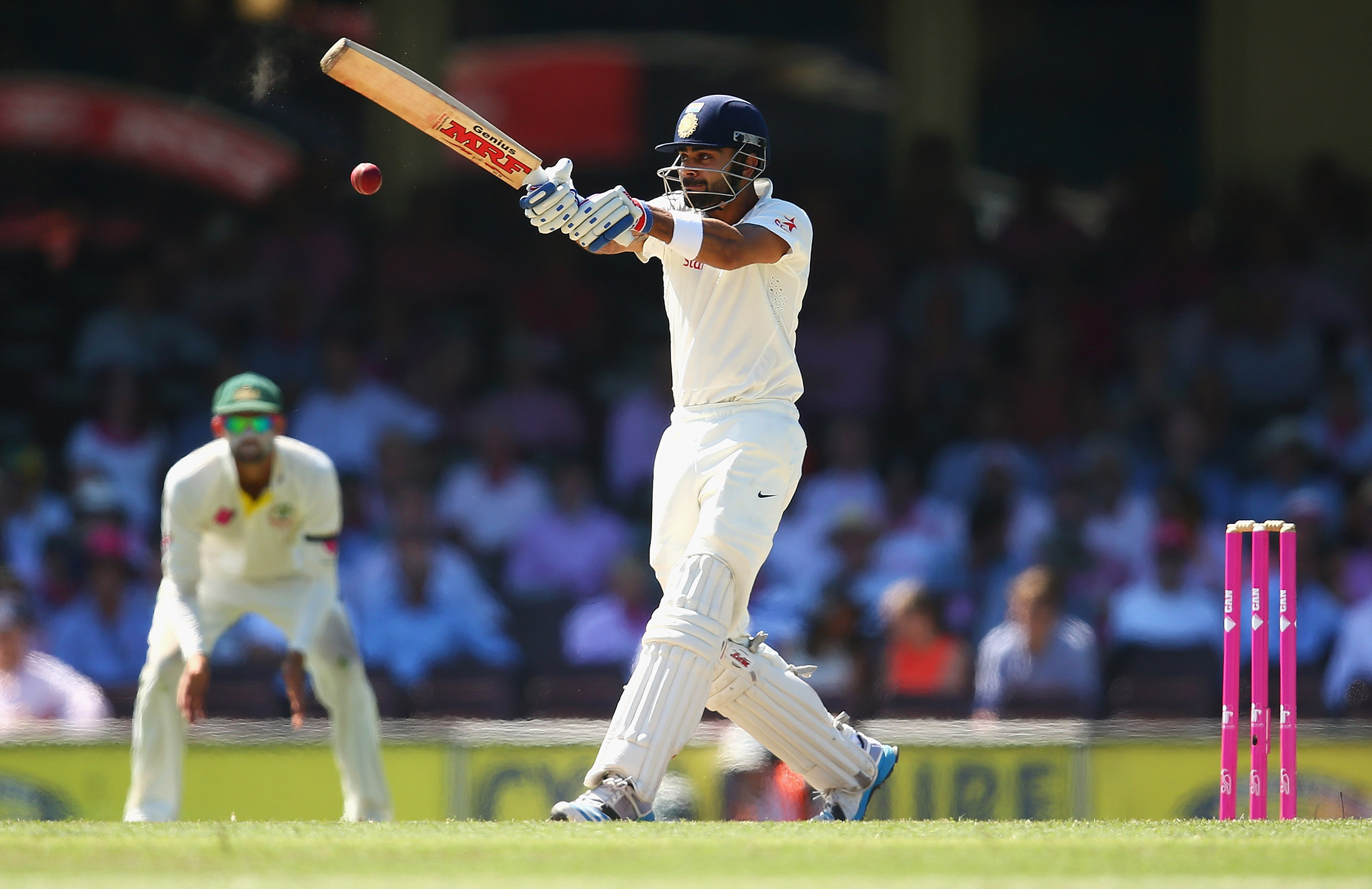 Virat Kohli and India will play four Tests this summer // Getty
