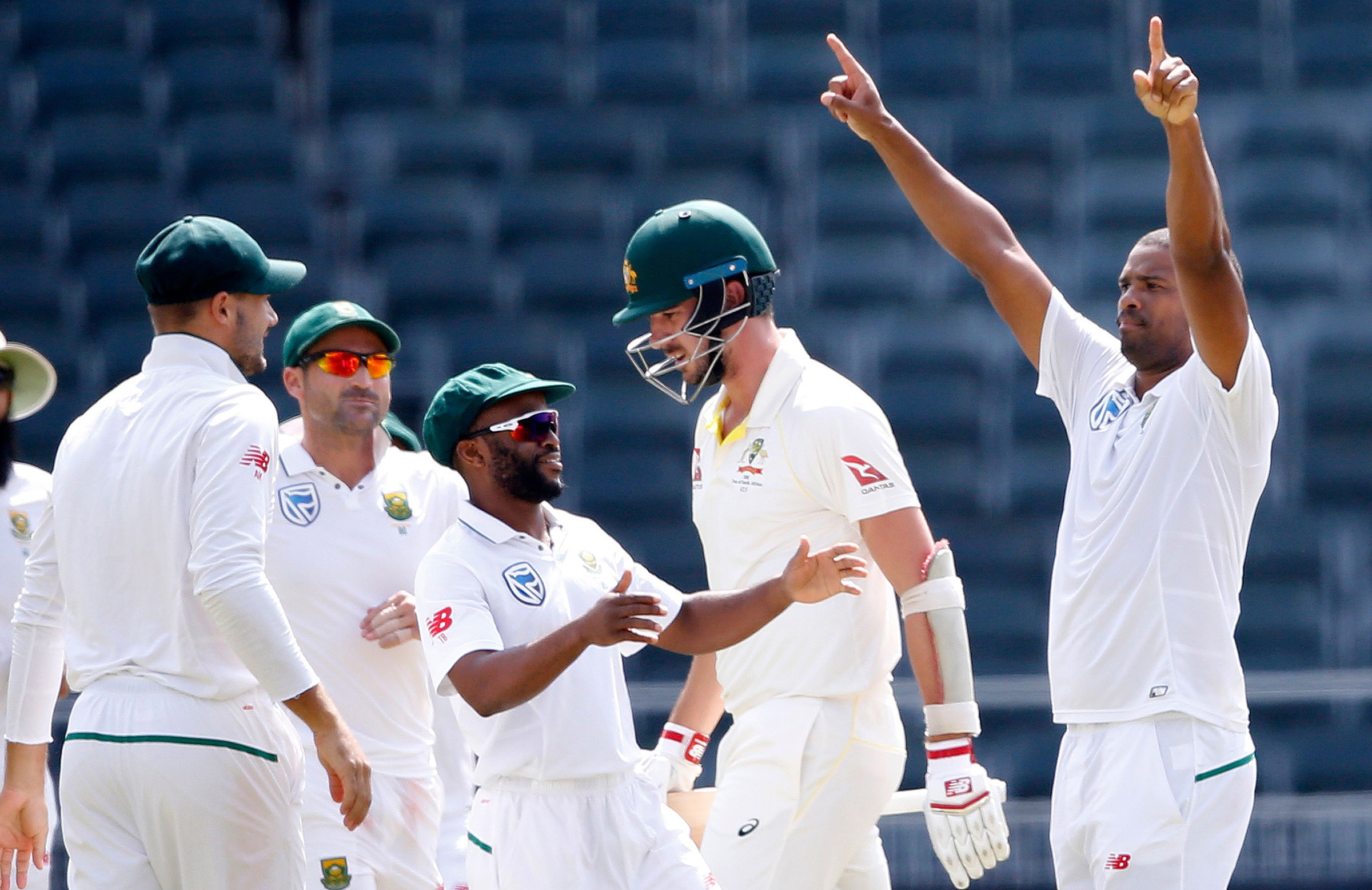 Philander celebrated his 200th wicket during his remarkable spell // Getty