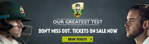 Ashes tickets are on sale now