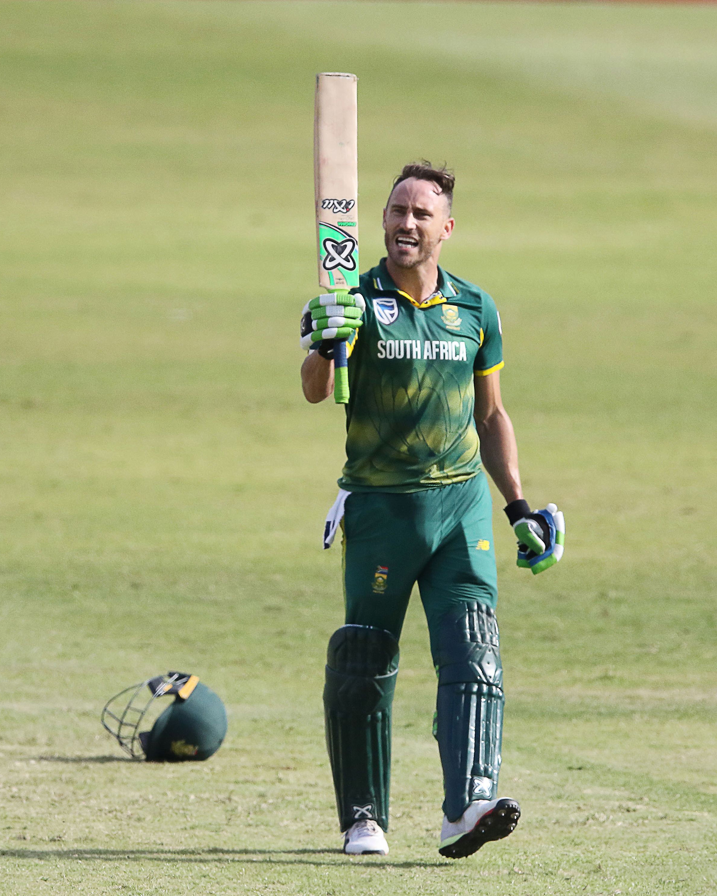 Du Plessis was the anchor of South Africa's innings // Getty