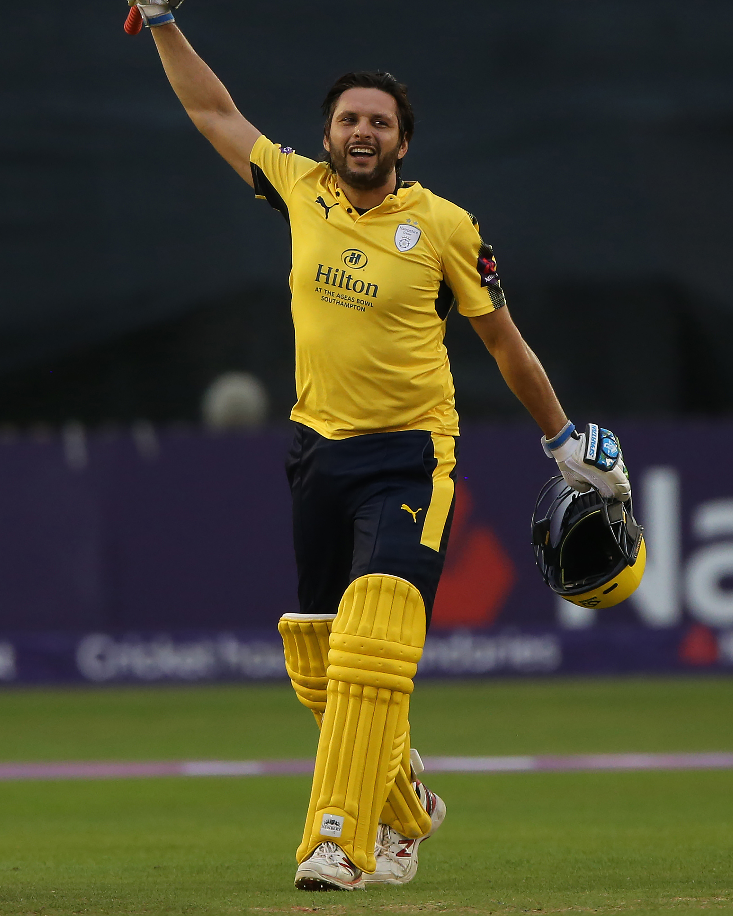 Afridi's 42-ball ton is the 12th fastest in T20 history // Getty