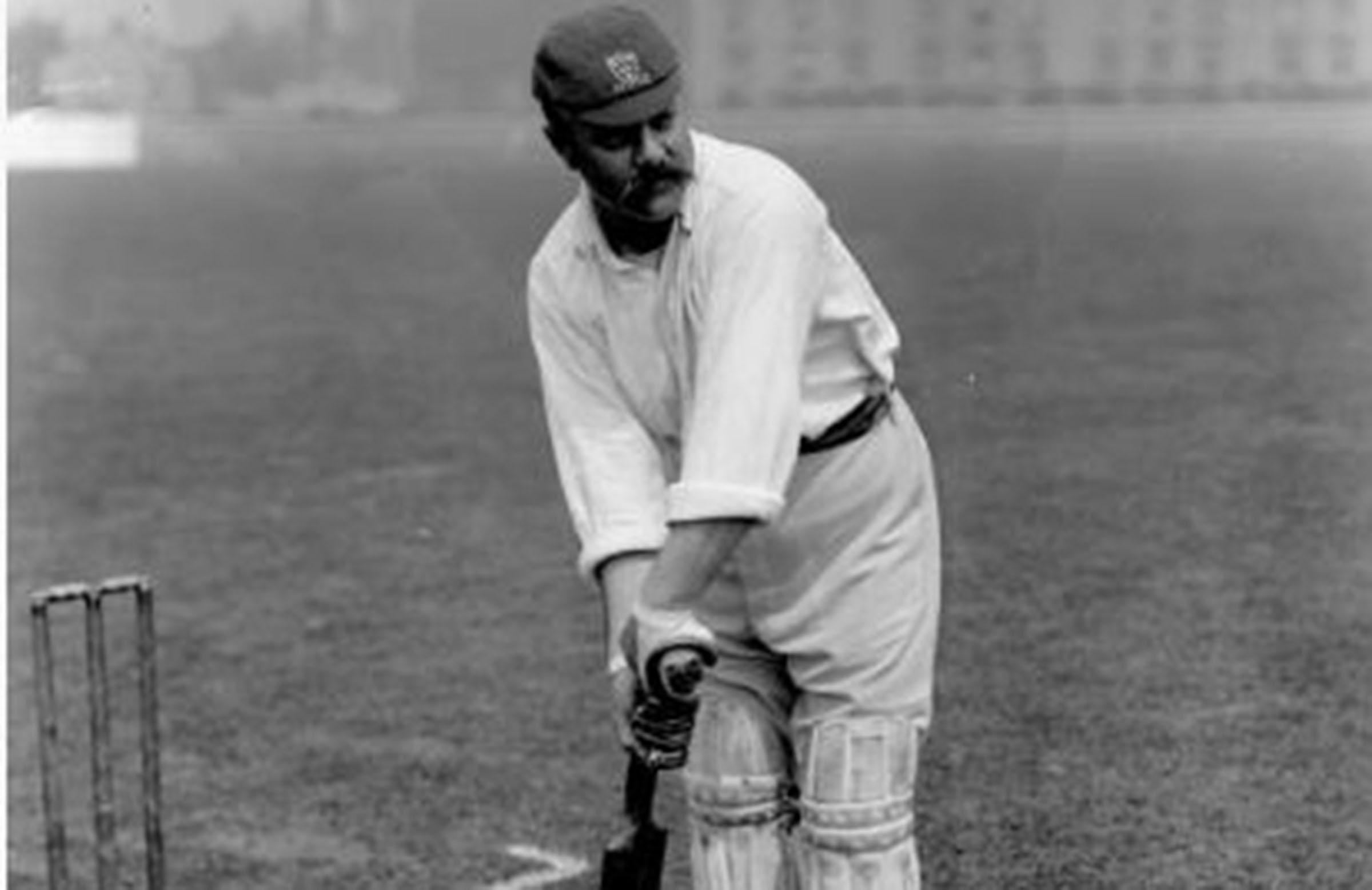 Former Australia Test captain Billy Murdoch, circa 1895 // Getty