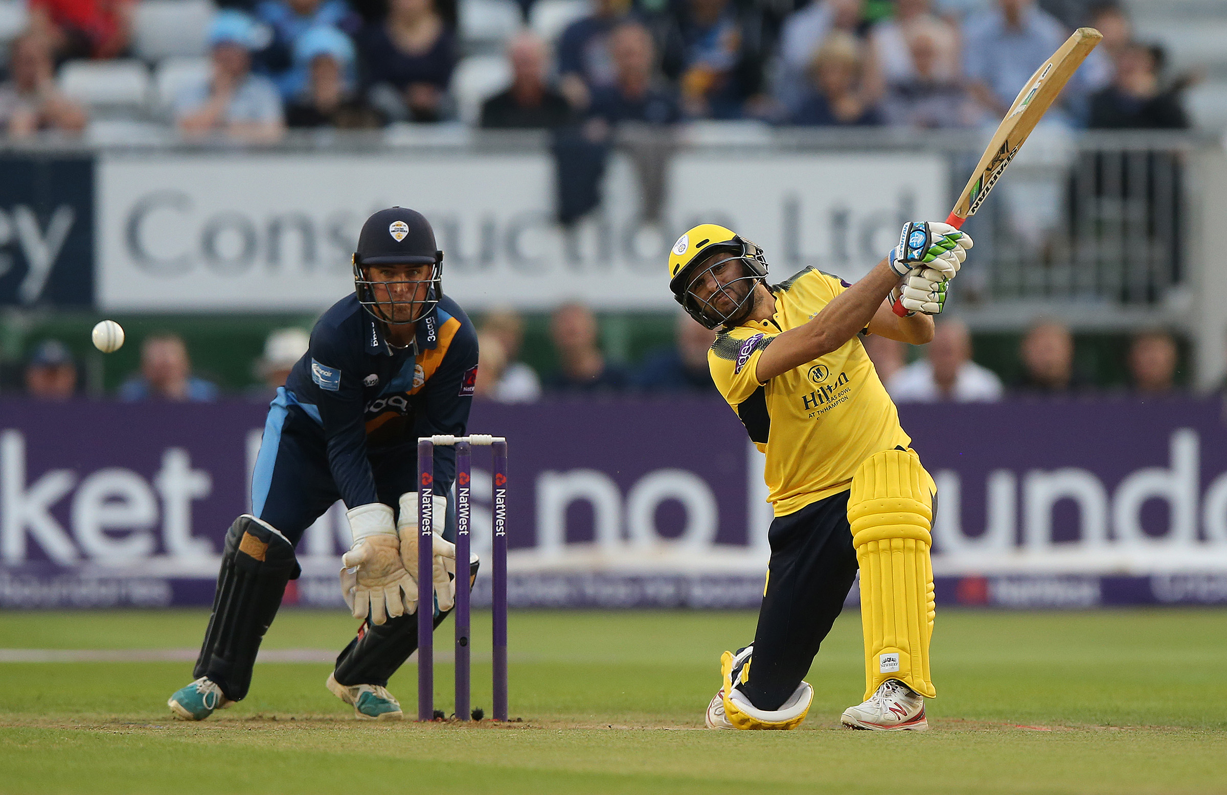 Afridi cleared the rope seven times at the County Ground // Getty