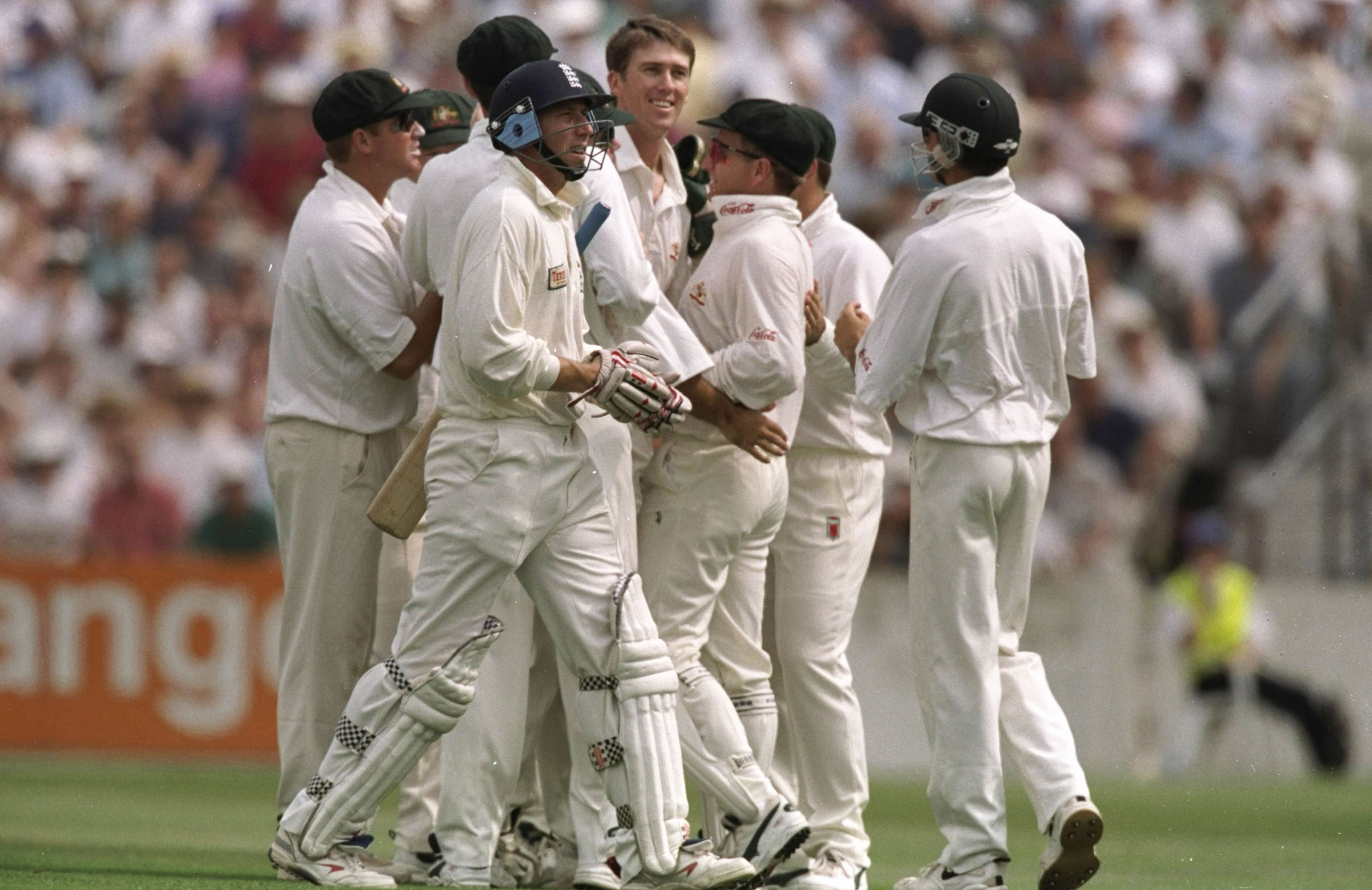 McGrath removed Atherton seven times in the 1997 Ashes series // Getty