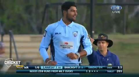 Sandhu-Four-Wickets-still