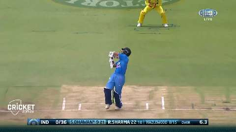 Hazlewood-has-Dhawan-hooking-for-first-wicket-still
