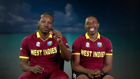 Gayle-and-Bravo-super-relaxed-ahead-of-semi-still