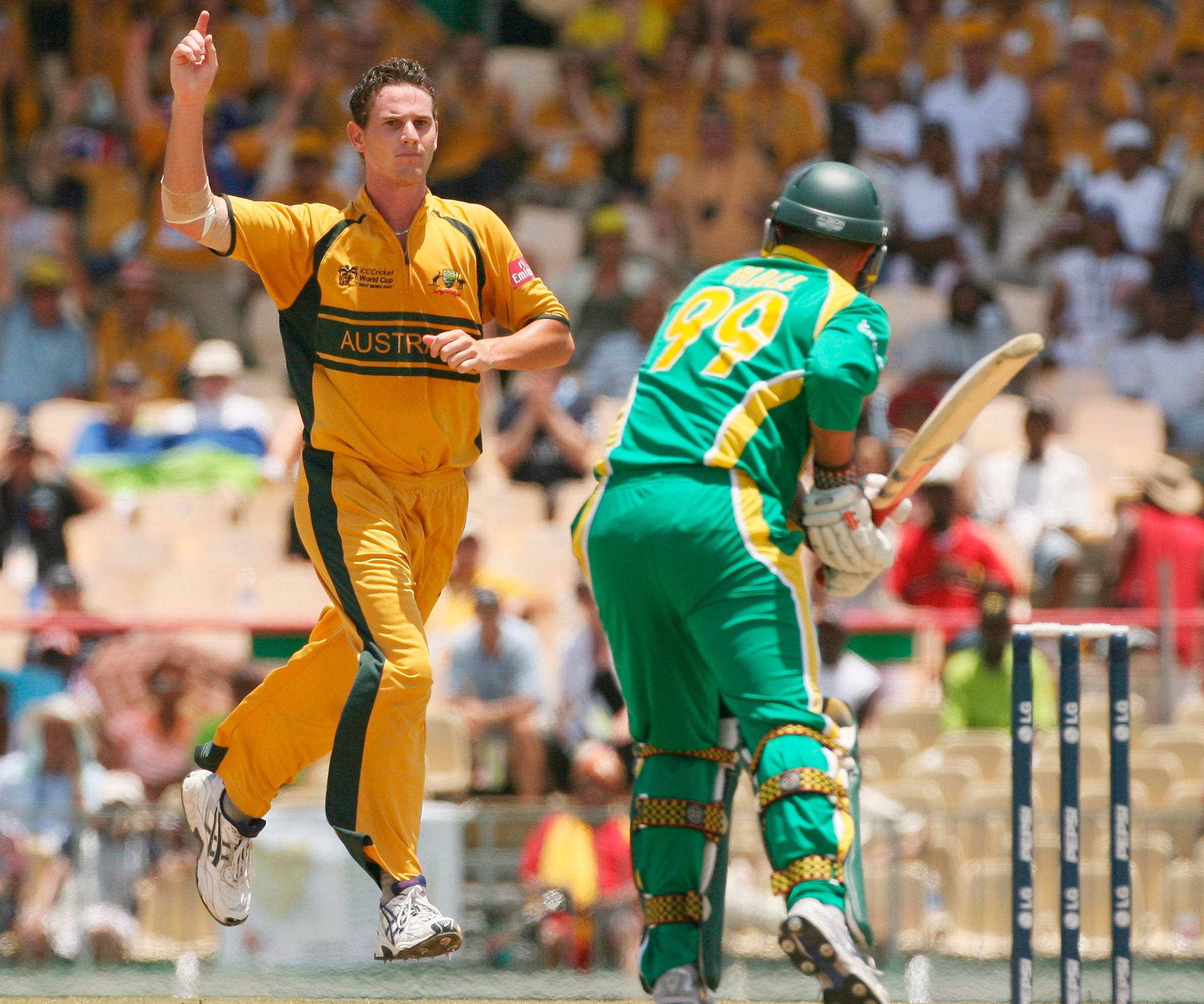 Tait took 23 wickets at 20 in Australia's triumphant World Cup campaign // Getty