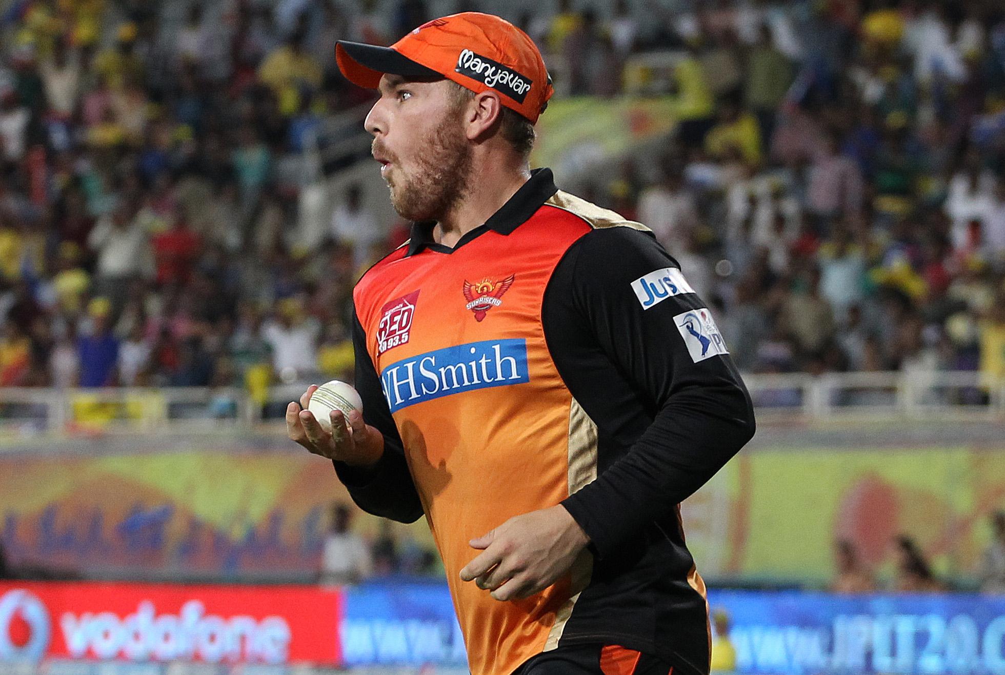 Finch in 2014 with Sunrisers Hyderabad // BCCI