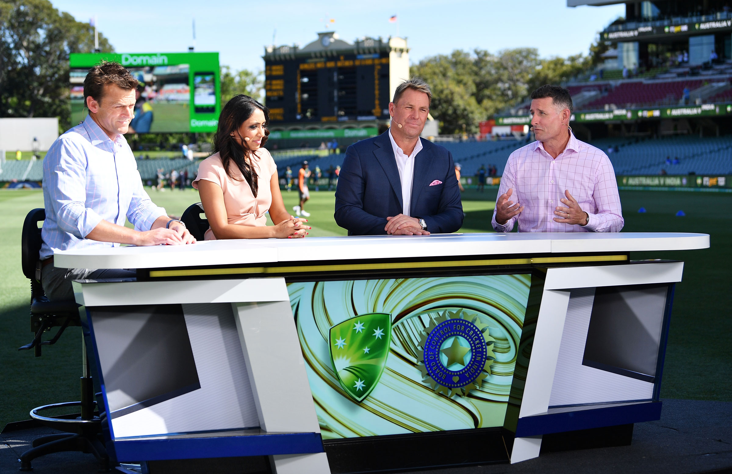 Fox Sports commentators in action // Getty Images