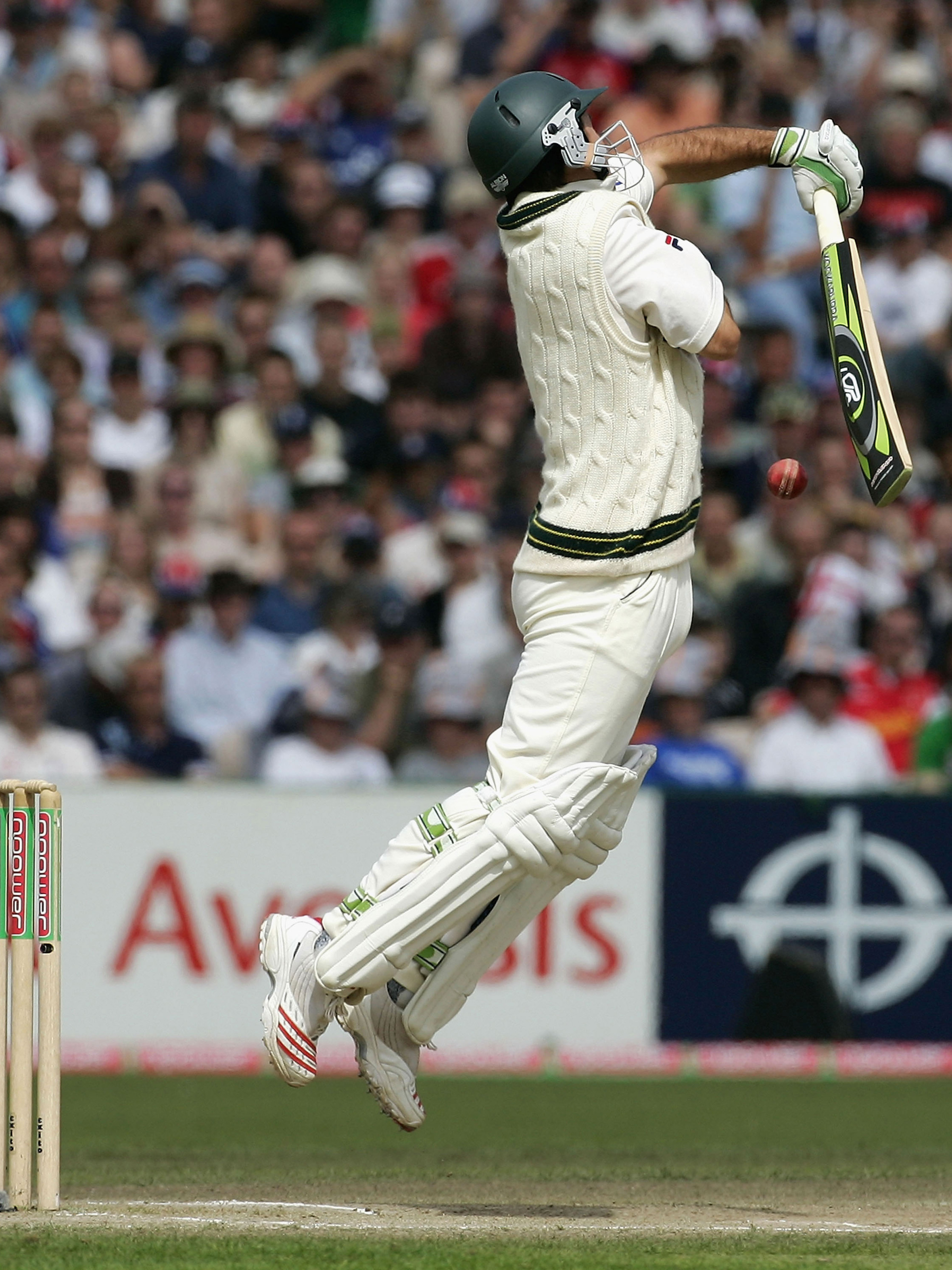 Ponting repelled everything England threw at him // Getty