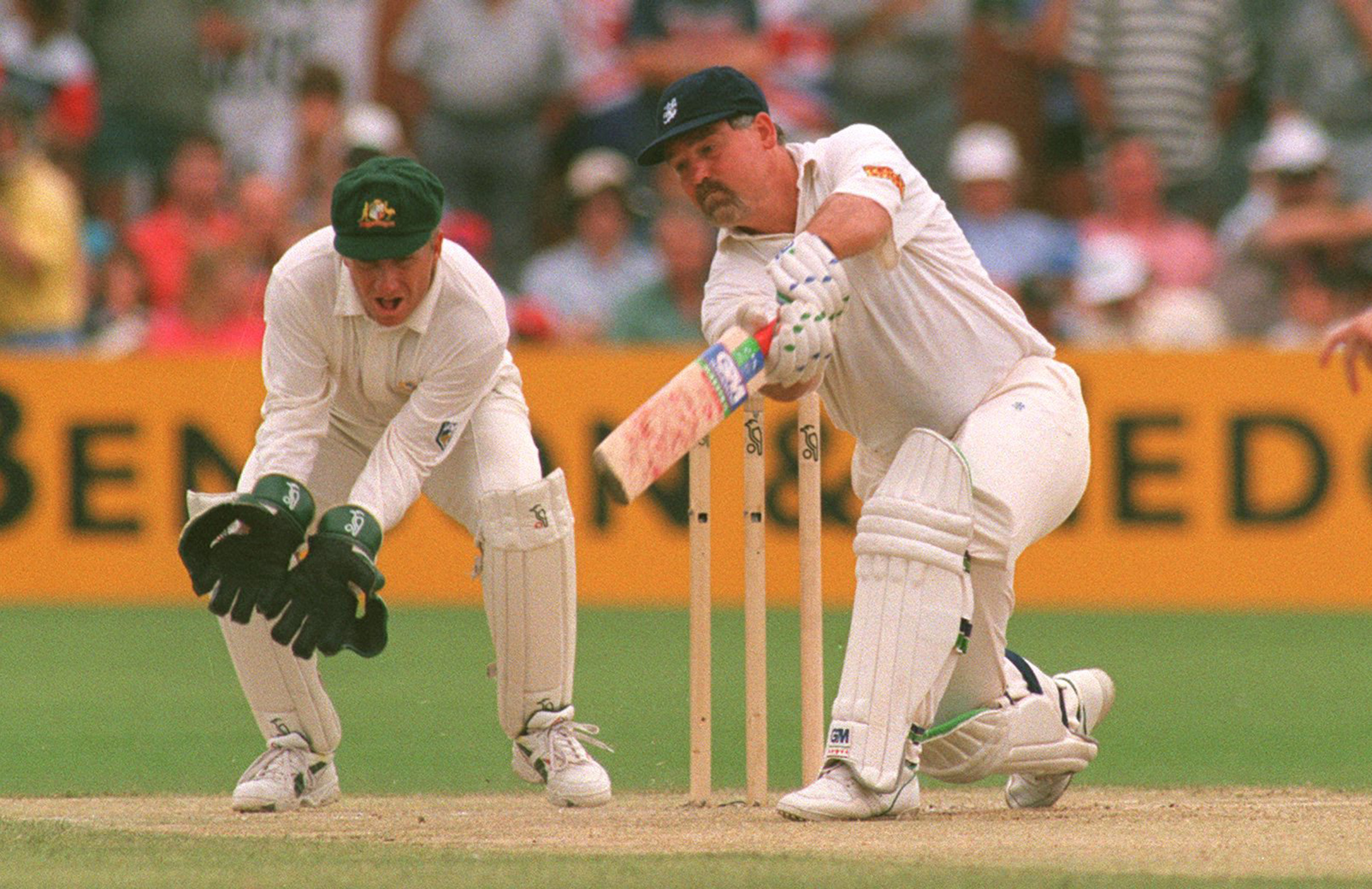 Gatting led England to an Ashes triumph in 1986-87 // Getty