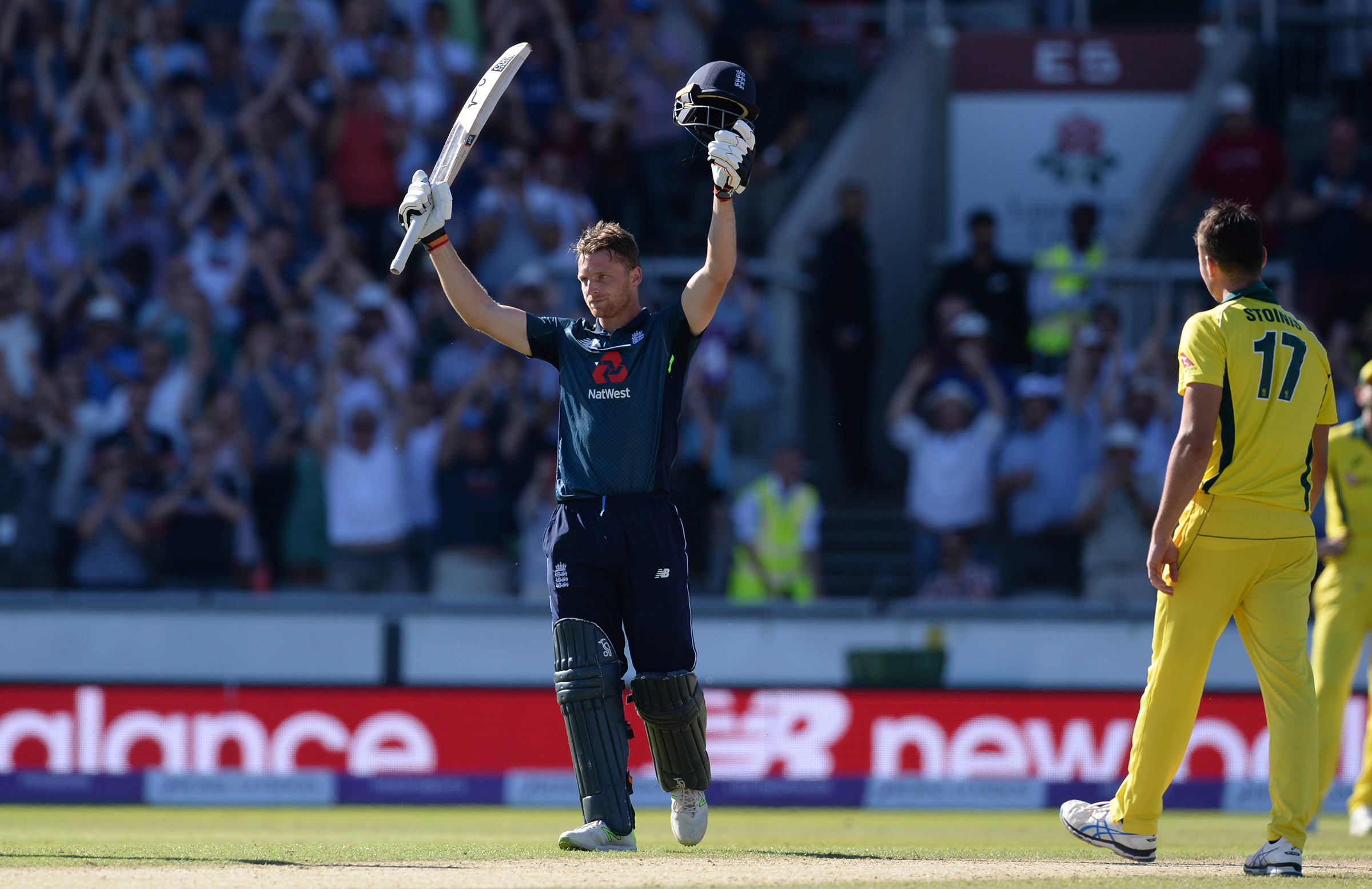 Buttler played a superb hand to secure a 5-0 series win // Getty