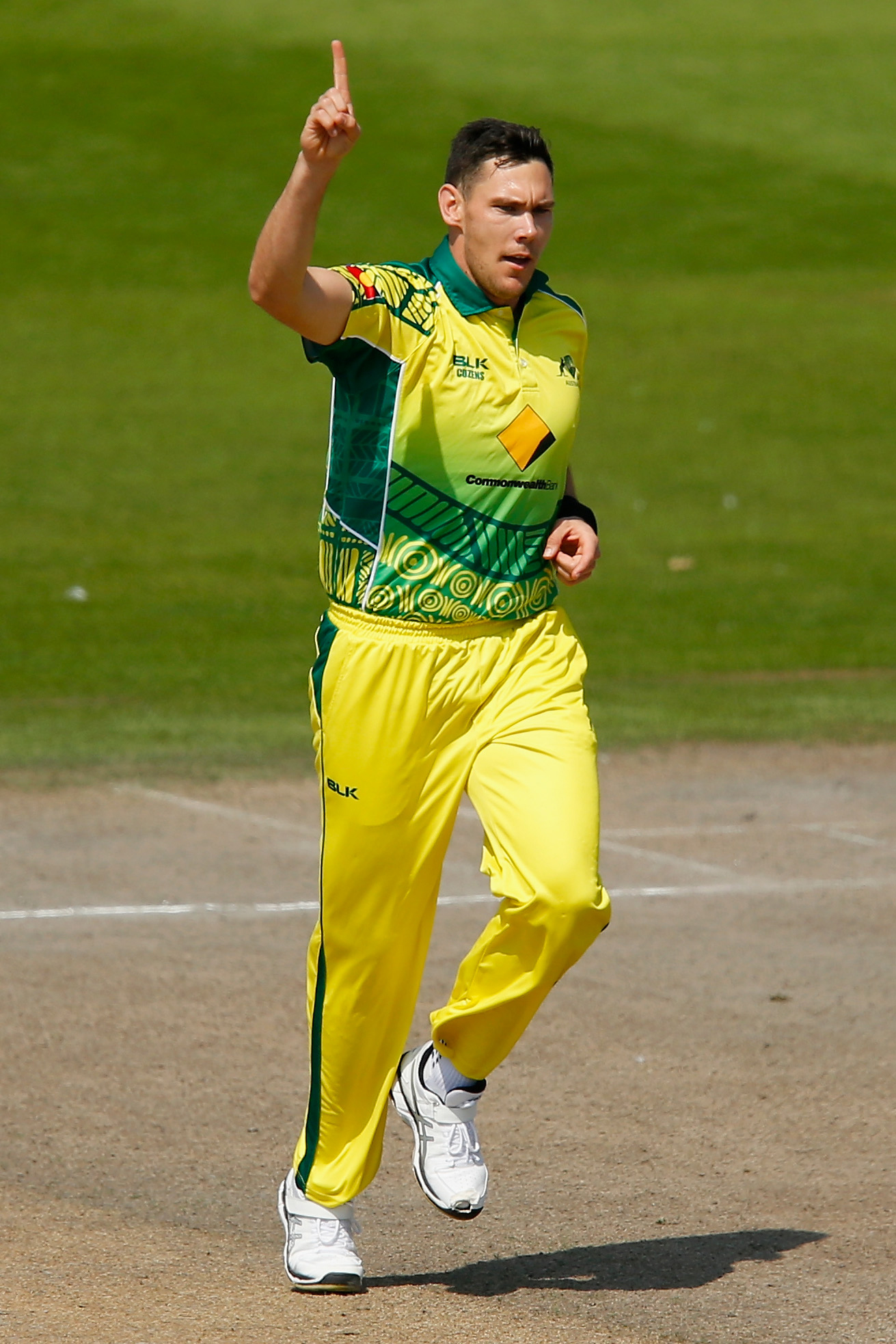 Boland celebrates an early wicket // Cricket Network
