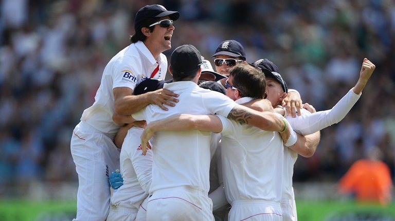 England win first Ashes Test