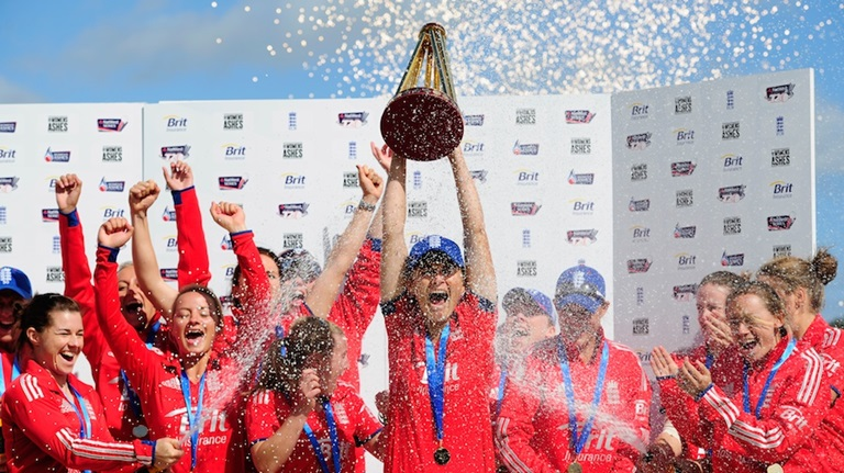 England Women win Ashes