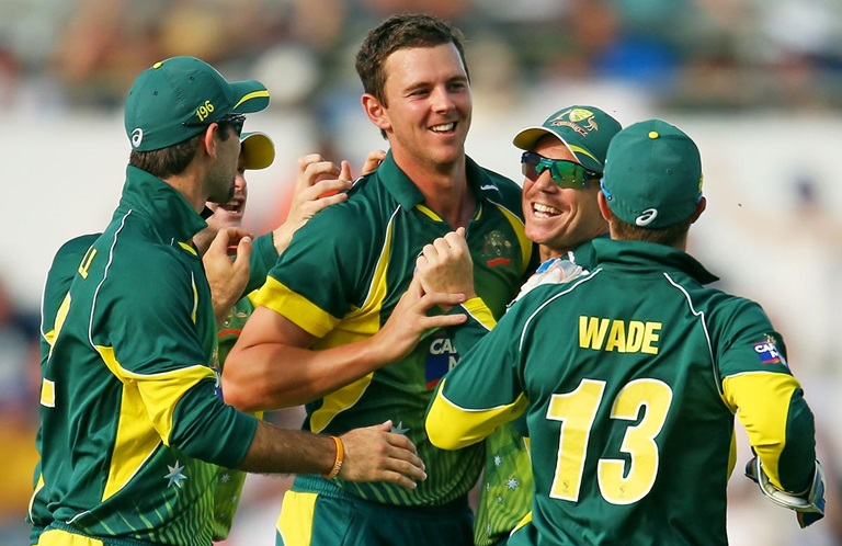 Josh Hazlewood // Getty Images