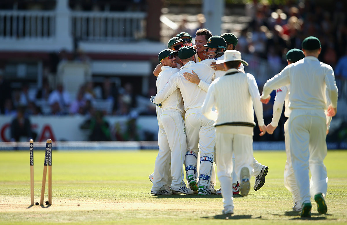 Australia win second Ashes Test Lord's 2015
