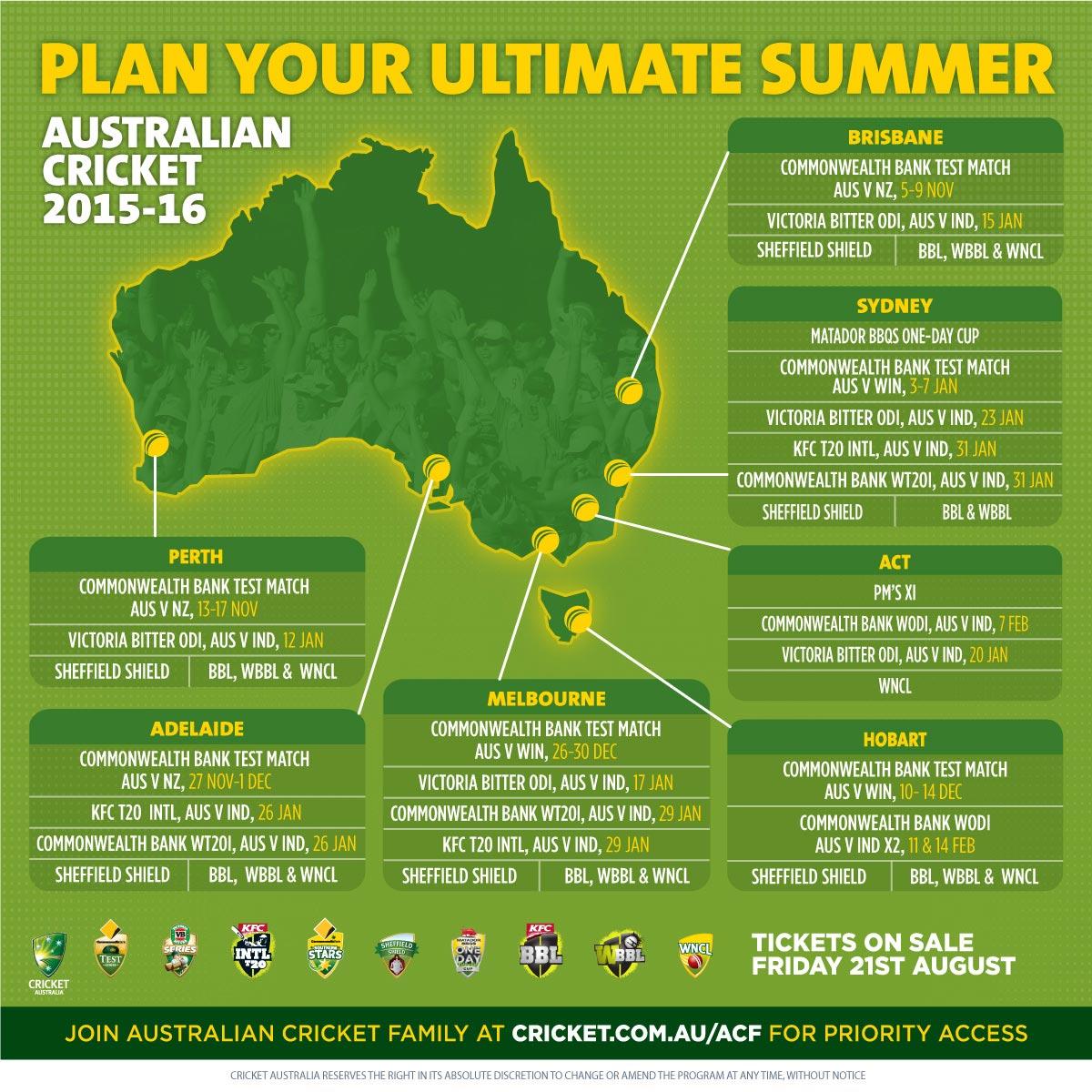 Southern Stars Summer Schedule Announced Cricket Com Au