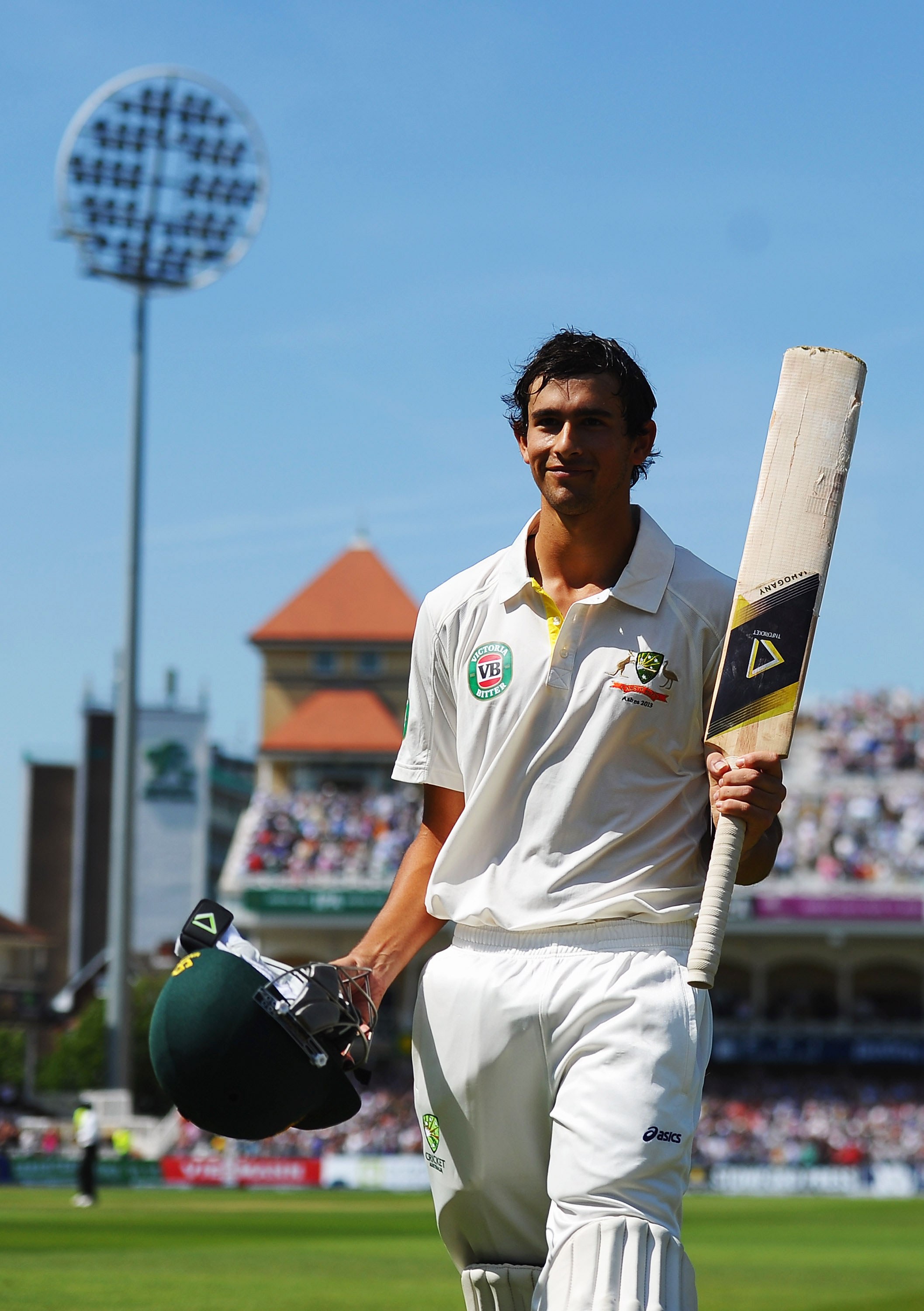 Ashton Agar's famous partnership with Phillip Hughes at Trent Bridge, Ashes 2015 // Getty Images