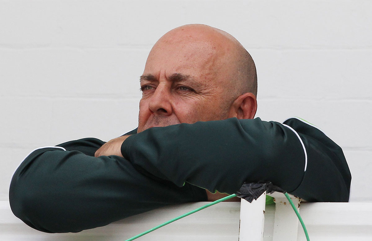 oach and national selector Darren Lehmann watches // Getty Images