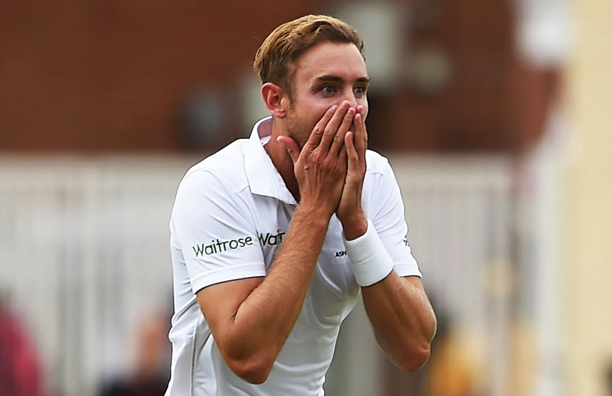 Broad had his greatest Test match day // Getty Images