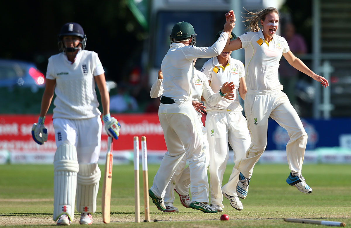 Ellyse Perry claimed five second innings wickets // Getty Images