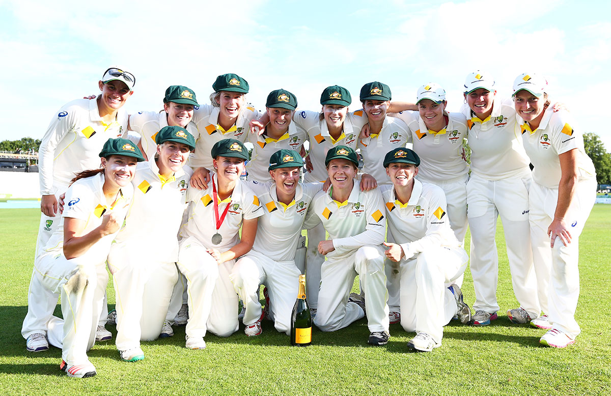 Southern Stars beat England in Ashes Test