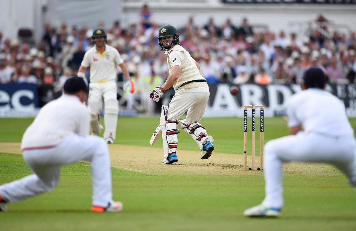 Rogers dismissed by a peach from Broad // Getty Images