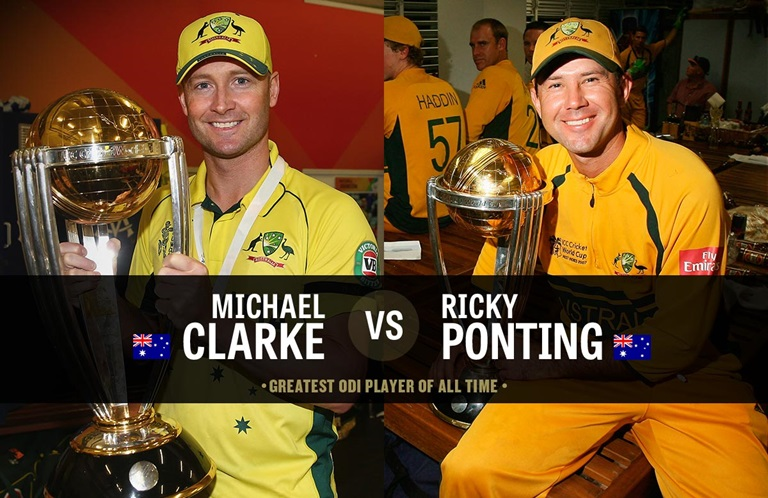 Clarke and Ponting