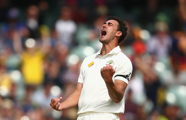 Mitchell Starc is set to return in June // Getty Images