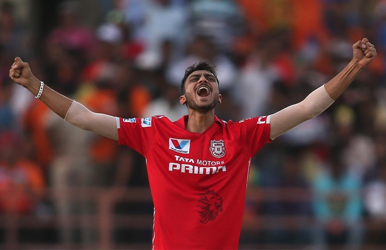 Axar Patel takes the first hat-trick of IPL 2016