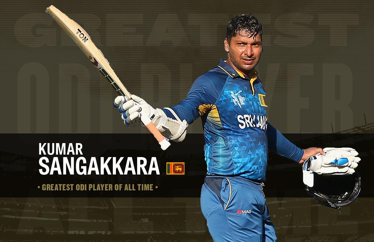 Kumar Sangakkara, ODI GOAT // cricket.com.au