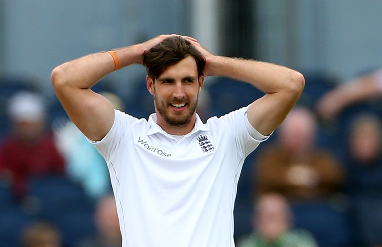 Steven Finn is under the pump in England // Getty Images
