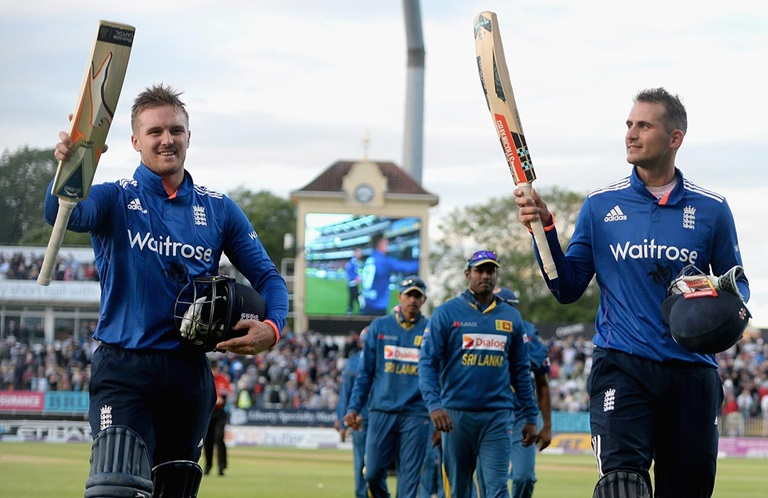 Alex Hales Jason Roy