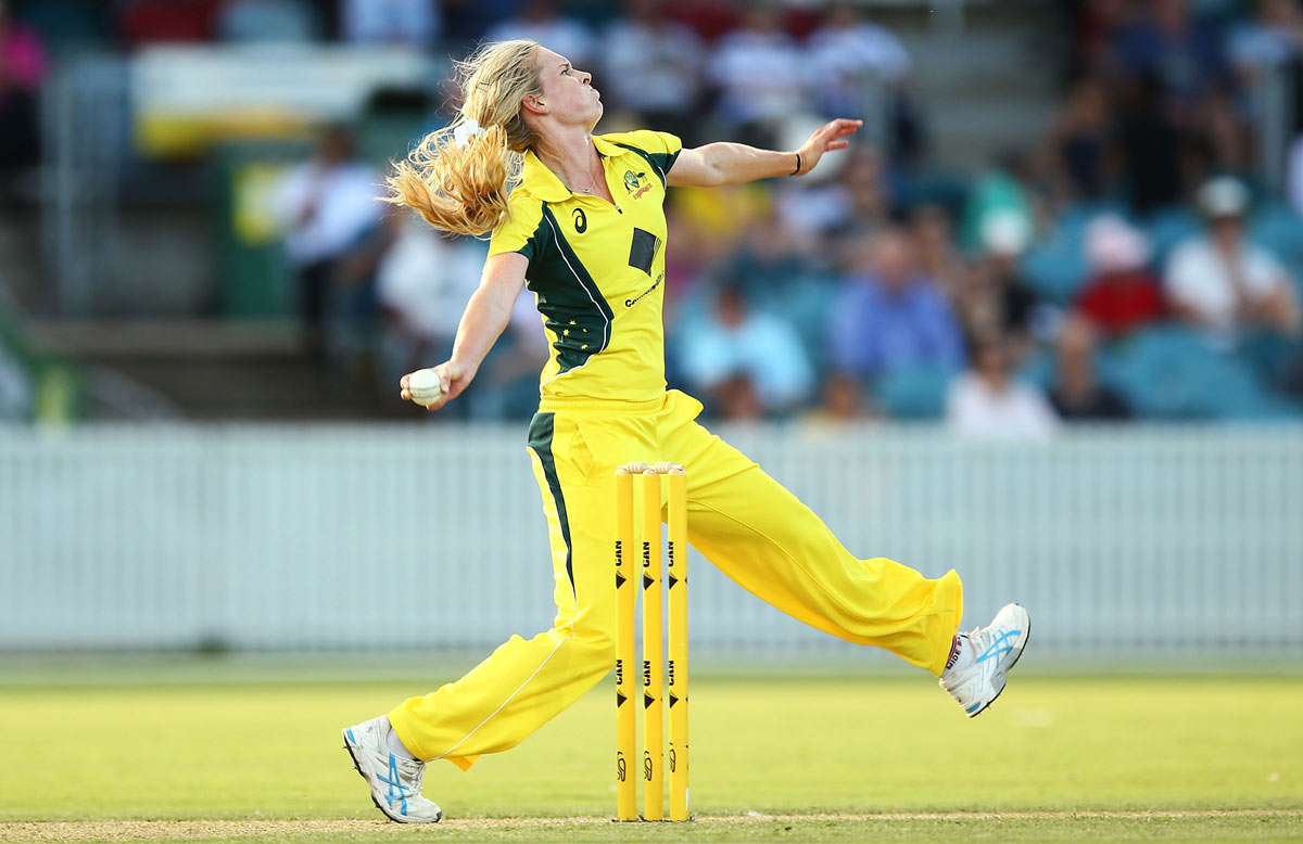 Holly Ferling is thrilled by the new support for women's cricket // Getty