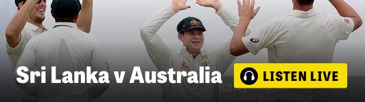 Listen live to Sri Lanka v Australia