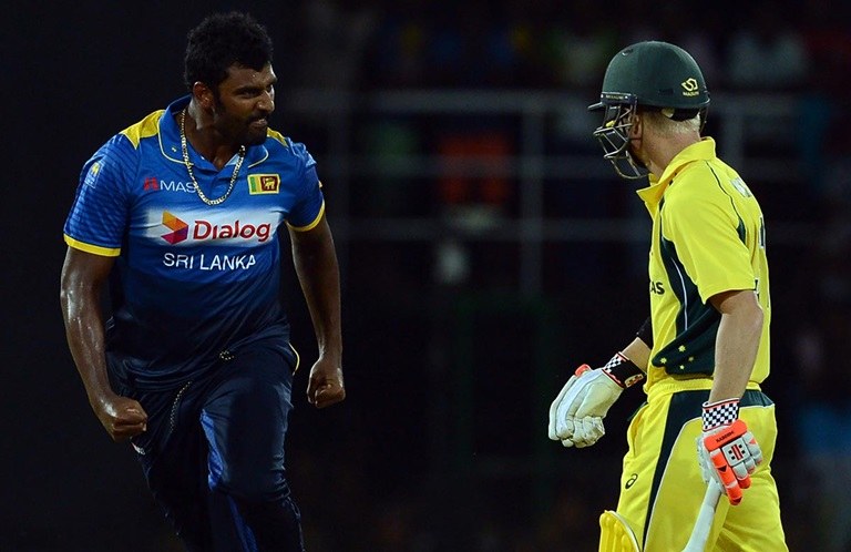 Image result for Angry Perera vs australia