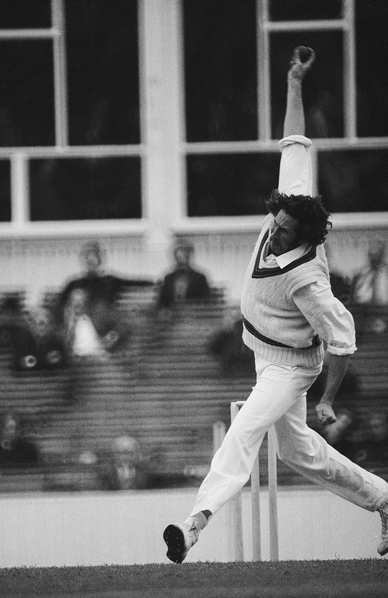 Walker's unique bowling action became his trademark // Getty Images