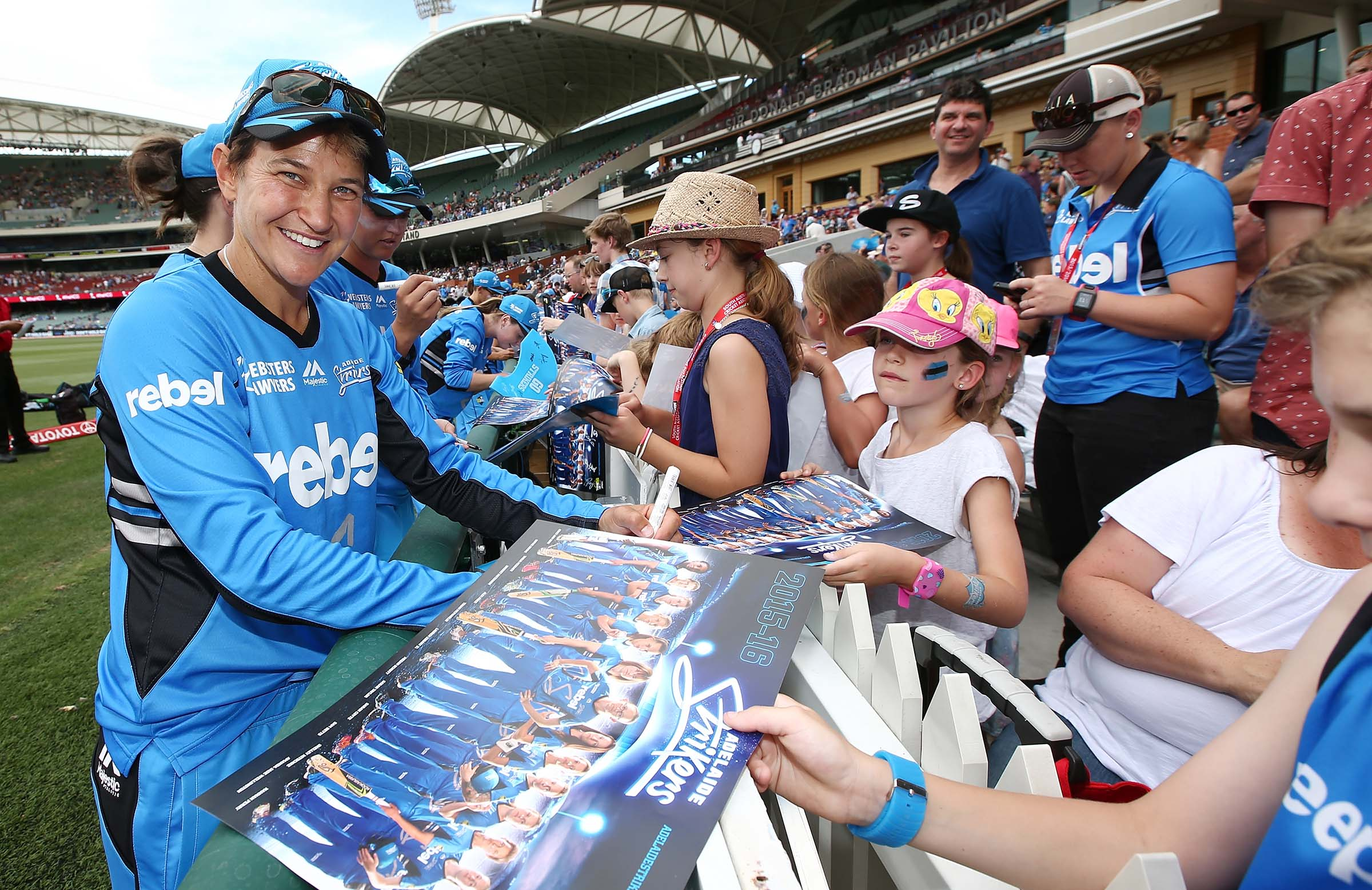The Women's Big Bash was a hit with fans last summer // Getty