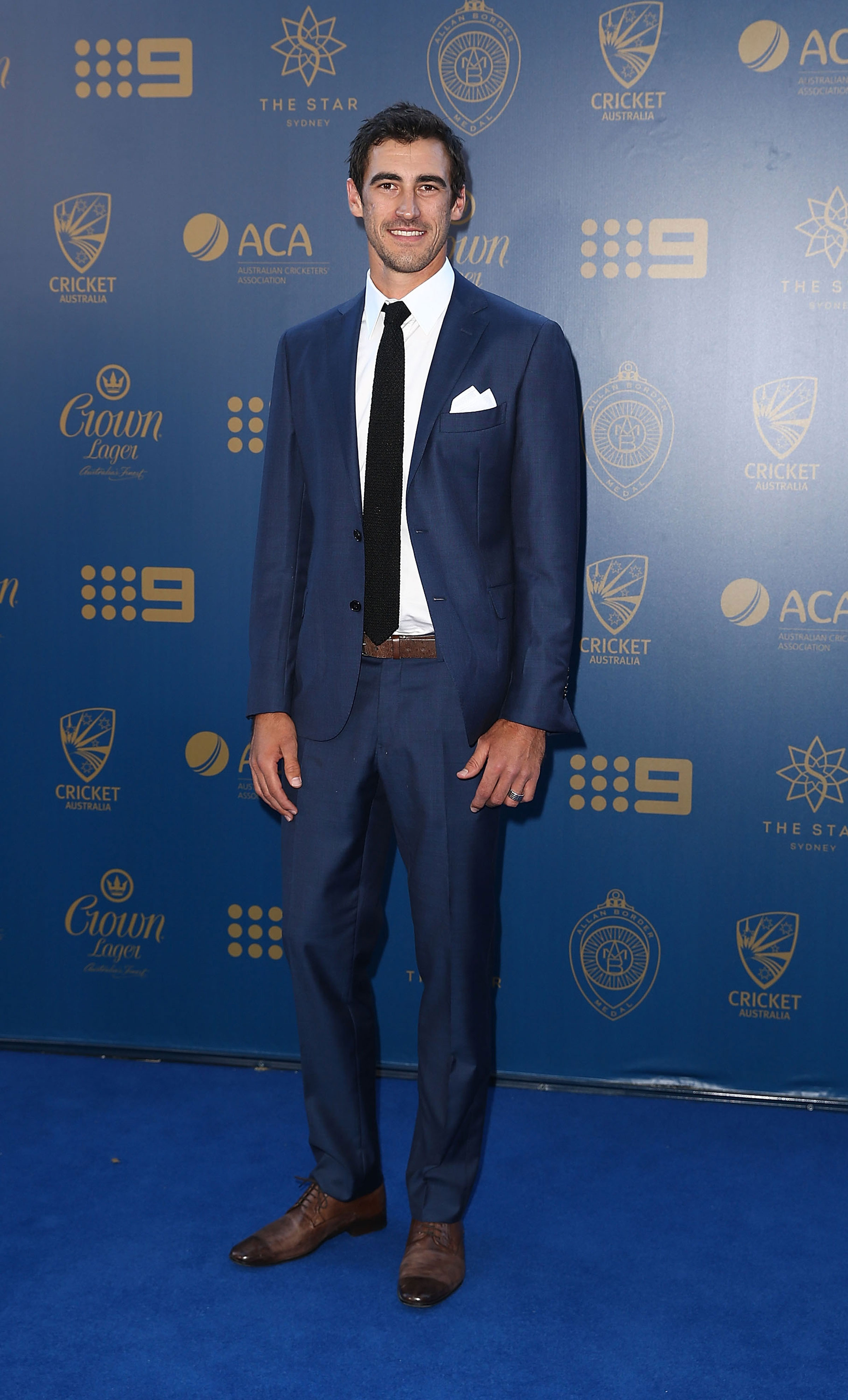 Photo Gallery: Best of AB Medal blue carpet | cricket com au