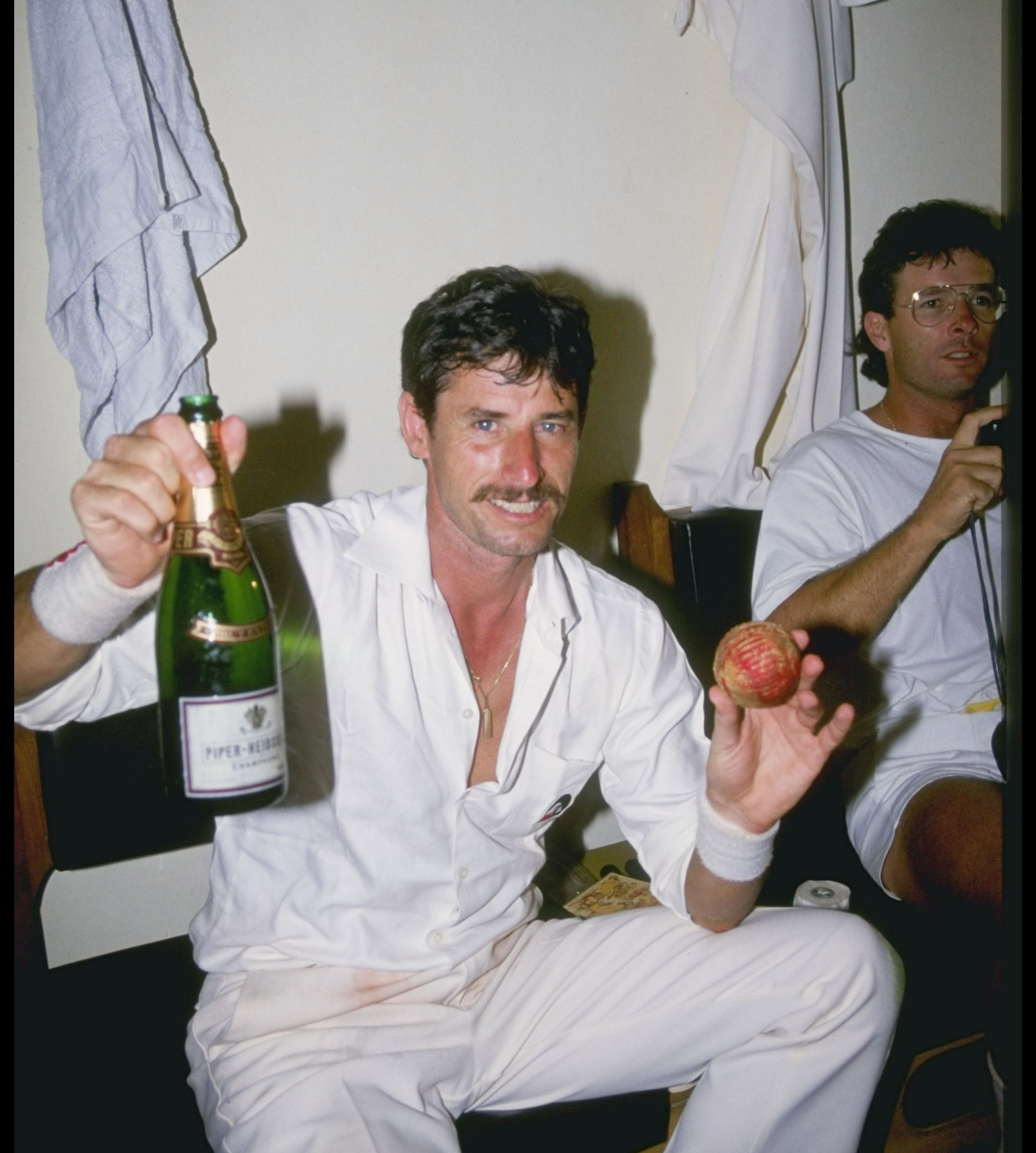 Richard Hadlee feeling sufficiently better after NZ's '88 Bangalore Test against India // Getty