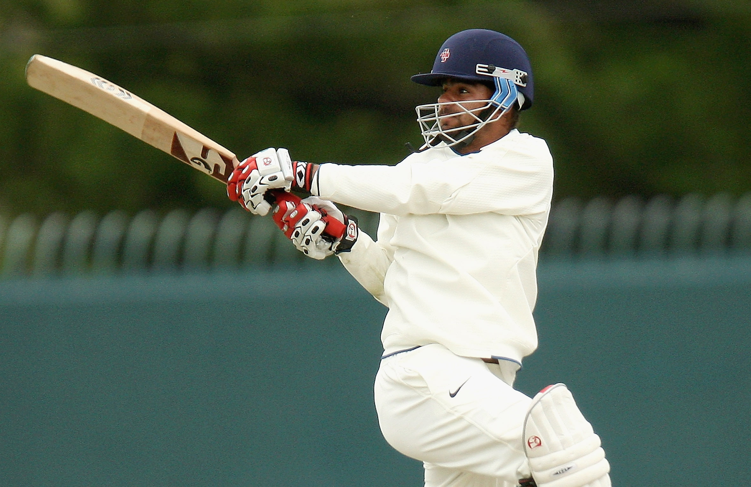 Harpreet bats for India's U19 side in a match in Hobart in 2009 // Getty