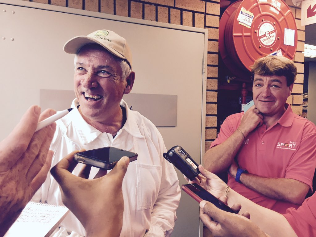Pierre Hefer chats to South African media // Junia Stainbank
