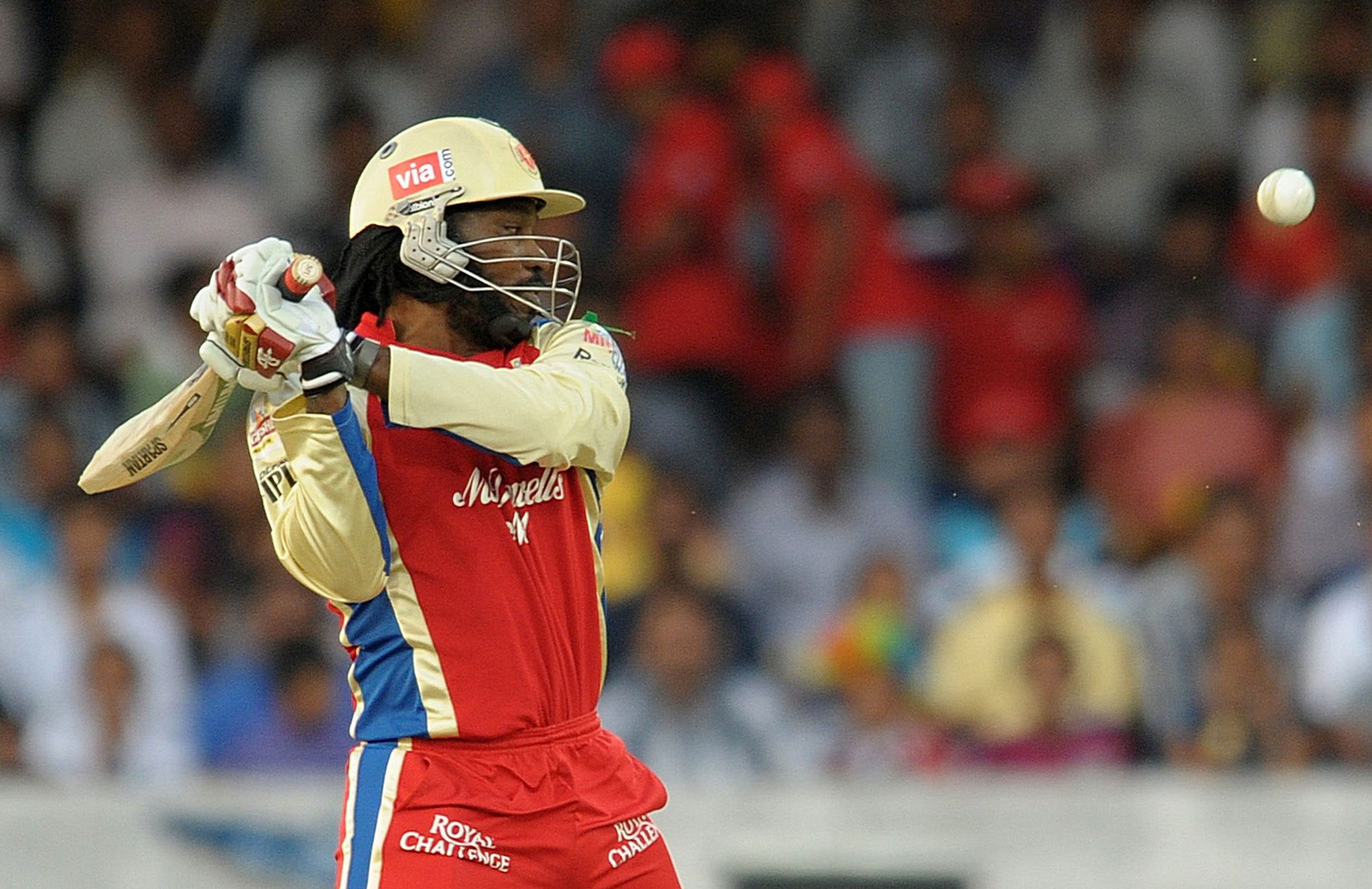 Gayle has twice claimed the Orange Cap // Getty