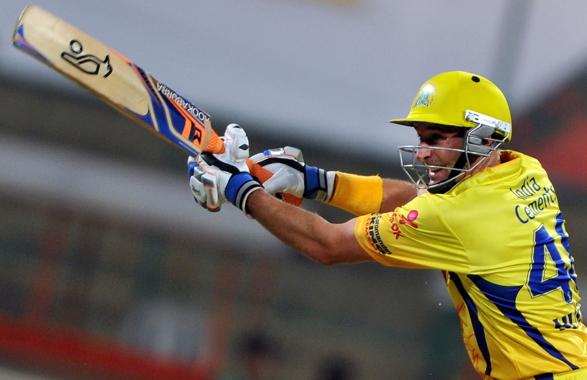 Mike Hussey dominated in 2013 // Getty