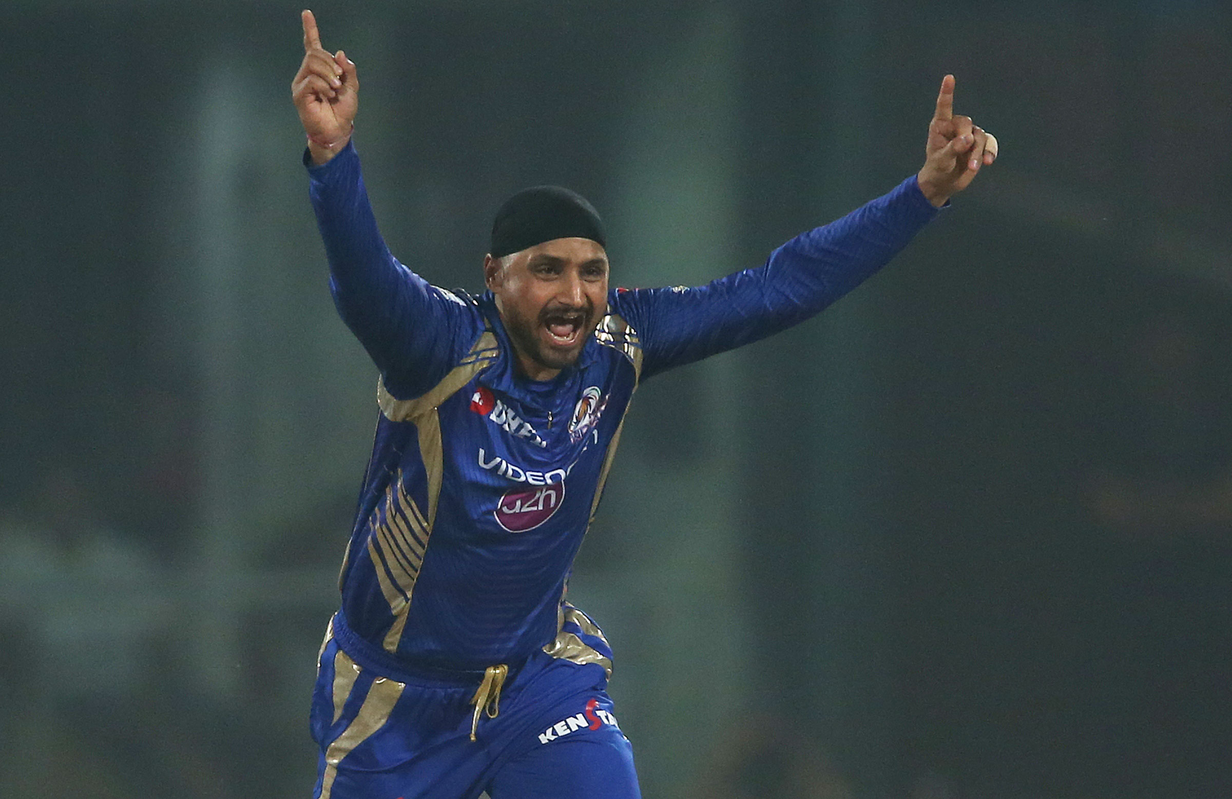Harbhajan has been a mainstay of Mumbai's side // BCCI