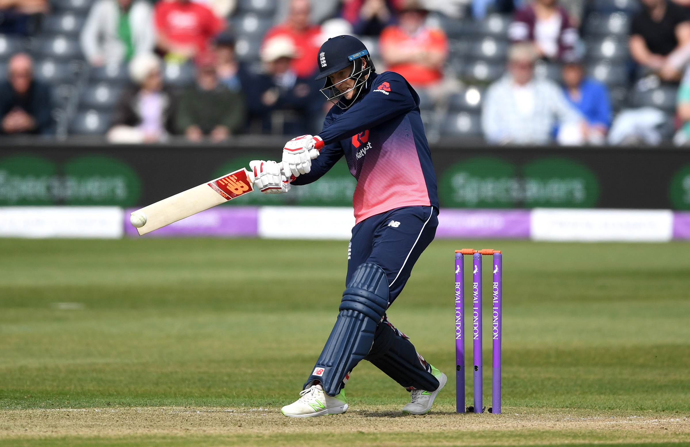Joe Root is looking to build on his power hitting // Getty